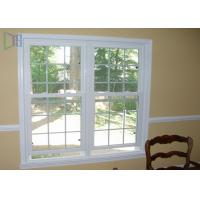 China Heat Insulation Vertical Opening Windows , Double Hung Replacement Windows on sale