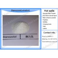 China Anabolic steroid raw powder  bodybuilding Stanozolol Winstrol oral steroid for Bodybuilding CAS 10418-03-8 wholesale