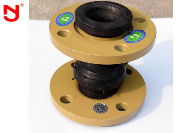 Quality NBR Rubber Bellows Expansion Joints , Plumbing Expansion Joint Easy Maintainence for sale