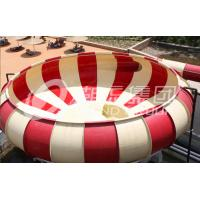 China Colored Fiberglass Custom Water Slides , Adult Long Water Slide wholesale