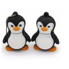 China Cartoon Character Anima  Penguin PVC USB Flash Drive USB 2.0   32GB 64GB 128GB High Capacity wholesale