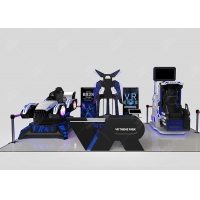China Virtual Reality Interactive Gaming Center VR 9d Theme Park wholesale