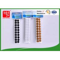 China Custom small packing self adhesive hook and loop Sticky hook and loop Dots for supermarket wholesale