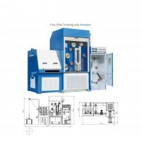 China 24D Fine Wire Drawing Machine with Annealer wholesale