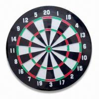 China 18 x 1-1/2-inch Flocked Dart Board, Double Side Design wholesale