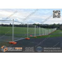 China Canberra Secure Temporary Fence Panels for sale 42micron meter galvanized zinc layer | 2100mm height wholesale