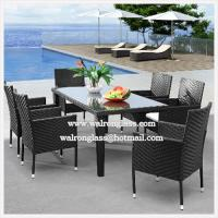 China Modern and Simple Design for Outdoor Furniture with Glass wholesale