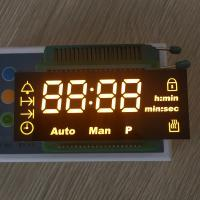 China 10.7mm Character Height Custom LED Display Ultra Amber For Digital Oven Timer wholesale