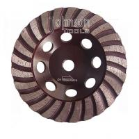 China Balanced Turbo 125mm Diamond Grinding Wheels For Stone with M14 thread on sale