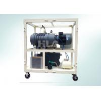 China Double Stages High Vacuum Pump System Combination For Electrical Equipment Air Dryer wholesale