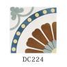 China Encaustic Design 20*20 cm Decorative Ceramic Tile For Kitchen Wall wholesale