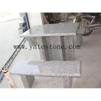 Buy cheap Granite table and bench 02 from wholesalers