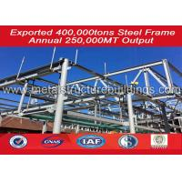 China Modular Shop Buildings Steel Structure Warehouse Easy Erection Energy Conserving wholesale