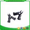 Adjustable Garden Cane Connectors , 16mm Black Bamboo Cane Connectors 50*40*40 Free sample
