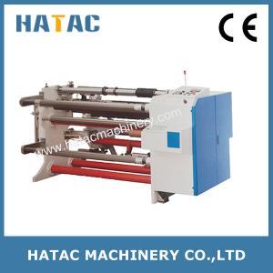 China Economic Type Plastic Film Slitting Rewinding Machine,Vinyl Bobbin Slitter Machinery,Aluminum Foil Slitting Machine on sale