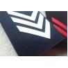 China Military Epaulets Custom Screen Printing Uniform , Blue Shoulder Board Epaulette wholesale