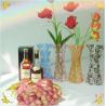 Colored flower vase,  foldable colored vase, pvc flower vase