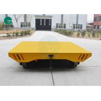 China Rail Transportation Heavy Load Transfer Trolley For Molds Handling With Ac Control System wholesale