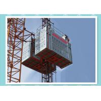 China 20/32 Dual Middle Speed Man Personnel And Materials Hoist Elevator Construction Usage wholesale