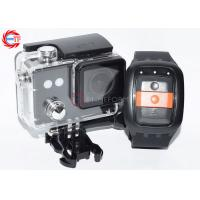 China Diving Sport DV Black FHD 1080p Action Camera With 30m Waterproof Case wholesale