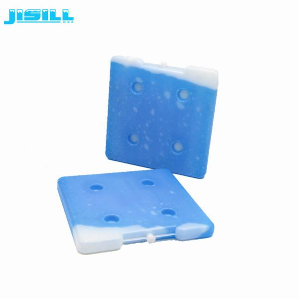 Quality High quality square shape 26*26*2.5 cm HDPE hard plastic reusable ice brick gel ice packs in cooler box for sale