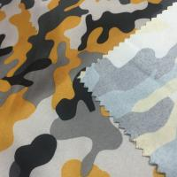 China Fashion Polyester Material Fabric 240T Pongee Transfer Printed Fabric 150cm Width wholesale