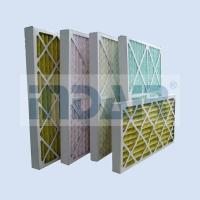 China No Metal Disposable Air Filters HVAC Low Pressure Drop Media For Air Conditioner wholesale