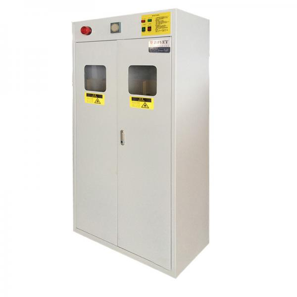 Quality ZOYET Full Steel Flammable Gas Cylinder Drum Storage Cabinets , Lab Drum Gas Cyliner Storage Cabinets for sale