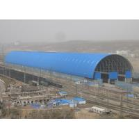China Lightweight Steel Space Frame Structures Roof Train Parking Lot Shade Structures wholesale