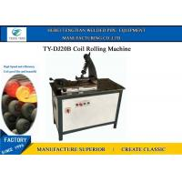 China Hydraulic Wrought Iron Coil Rolling Machine For Decorative Window Grill on sale