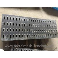 Buy cheap Material Q345B Slotted Hole Anti-skid Plate for Car Transporter from wholesalers