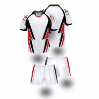 China OEM Service Best Quality Breathable Durable Black Rugby Shorts Rugby Wear T Shirt wholesale