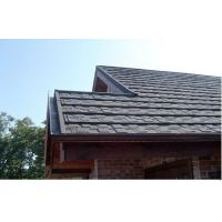 Shingle / Grid Lightweight Metal Roof Tiles roofing shingle For Building
