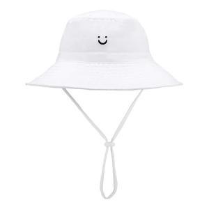 China UPF 30+ Baby Girls Neck Shade Flap Bucket Cap Sun Protection Beach Hat wholesale