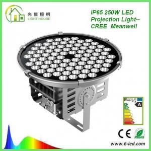 China High Power 250W Floodlight High Mast Lighting Firxture , IP67 High Mast Tower Lighting wholesale