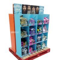 T - Shirt Advertising Cardboard Pallet Display Shelf With Wonderful Design
