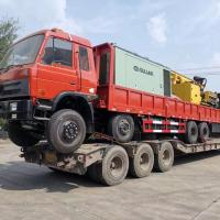 China Diesel Power Truck Mounted Water Well Drilling Rig 300m 600m 800m on sale