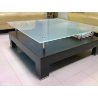 China Color paint Frosted Satin Table Top Glass ANSI Z97.1 Standards wholesale