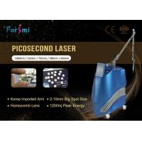 Buy cheap picosure picosecond laser tattoo 1064nm/532nm ; 585nm/650nm/755nm Optional from wholesalers