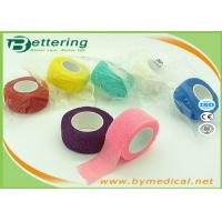 China Non Woven Elastic Cohesive Bandage For Finger , Self Adherent Bandage Wrap wholesale