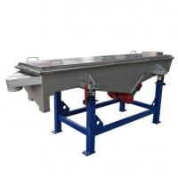 Good Quality  1-5  lemon Linear vibrating screen machine for powders and granules
