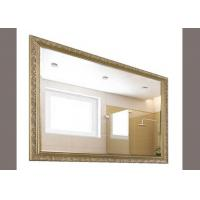 China Bathroom Decorative Framed Mirrors , Safety Explosion Large Framed Wall Mirror on sale