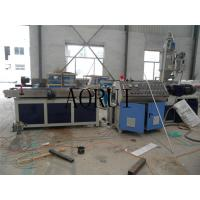 China PP PE PVC Corrugated Pipe Machine Plastic Extrusion Line for Electrical Wire wholesale
