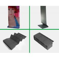 China Slim Clear Foldable LED Screens , 7000 Pixel / M² led strip display screen advertising wholesale