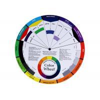 Permanent Makeup Pigment Mixing Color Wheel, Pigment Color wheel Card