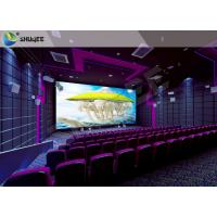 China SV Cinema 3D Sound Vibration Movie Theater Seats With Special Effect Machine wholesale