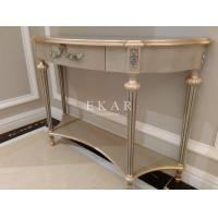 China Art deco console table mirrored console table antique apricot console table FH-108 on sale