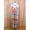 China bohemia Beach long dress brand Suspender one piece sun dress printed Maxi dress stocklots wholesale