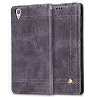 China Book Cover Sony Xperia Protective Case , Screen Protection Sony Xperia L Flip Cover wholesale