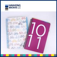 China Colorful A5 , A4 or custom spiral notebook printing  for school students wholesale